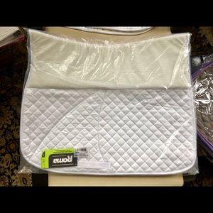 Roma non-slip dressage pad, full, new